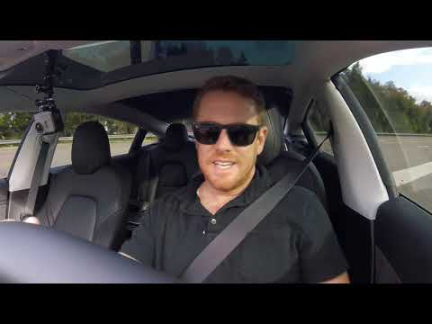 Tesla's New Software Update: Adjacent Lane Speed & Stop Sign Detection