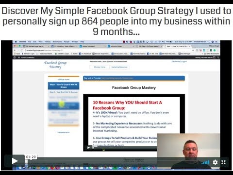 Facebook Group Mastery training - How to generate traffic using Facebook groups