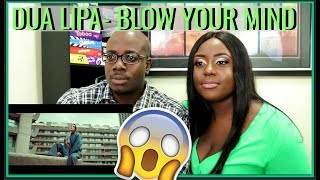 Dua Lipa - Blow Your Mind (Mwah) (Official Video) | BEECHER DYNASTY REACTS