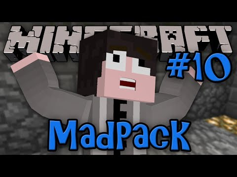 Minecraft: MadPack Modded Survival - Episode 10 - MAH NAPSACK!!
