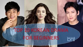 Video TOP 10 MUST WATCH KOREAN DRAMA SERIES FOR BEGINNERS download MP3, 3GP, MP4, WEBM, AVI, FLV Februari 2018