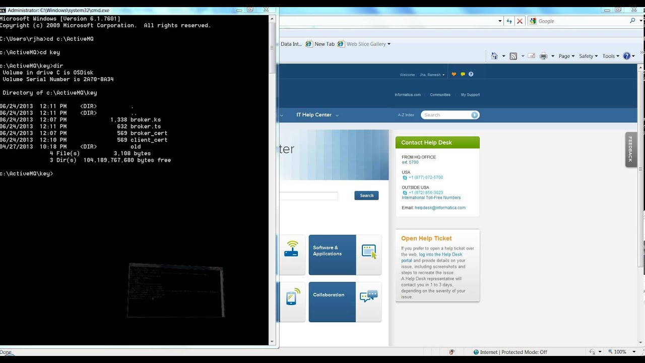 How to configure SSL for Active MQ through JMS