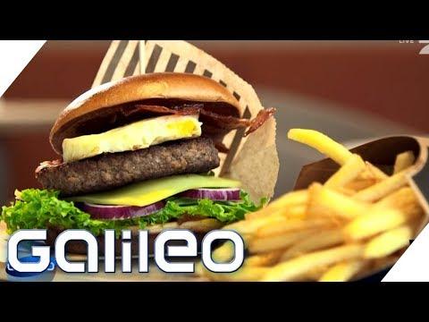 Das sind die besten Fastfoodketten | Galileo | ProSieben