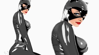 Drawing Catwoman