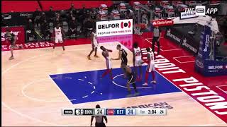Blake Griffin vs. Detroit Pistons   All Fights and Flops