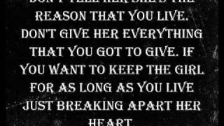 Break Apart her heart lyrics - Good Charlotte