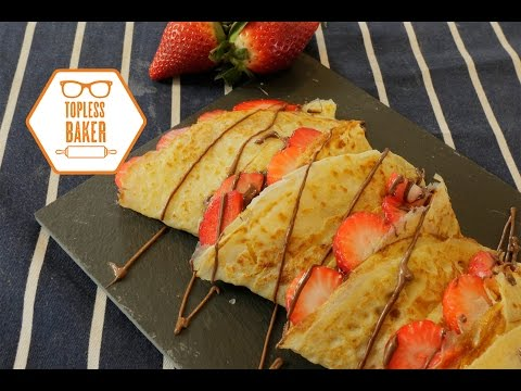 Easy Crepes – Topless Baker