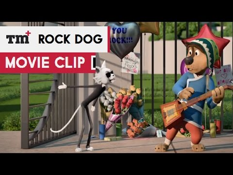 Rock Dog Movie   The Gates Are Closing 2017  Luke Wilson Animated Movie HD