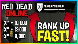 How To RANK UP FAST Solo In Red Dead Online! | New RDR2 Online Unlimited XP Method/Glitch/Farm