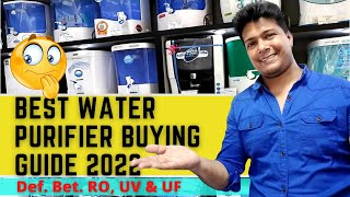 Water Purifier Buying Guide 2019 | Water Purifier For Home | Difference Bet UV, UF & RO Soumens Tech