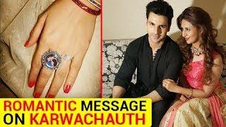 Divyanka Tripathi's ROMANTIC Message For Vivek Dahiya On KARWA CHAUTH