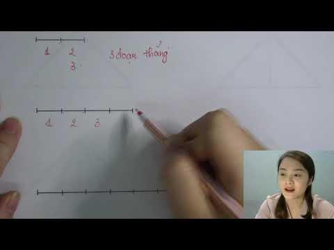 Dạy con cách đếm đoạn thẳng dễ nhất | Cô Uyển Tiểu Học