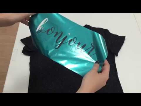 How To Create A Foil Shirt With The Silhouette Cameo 3