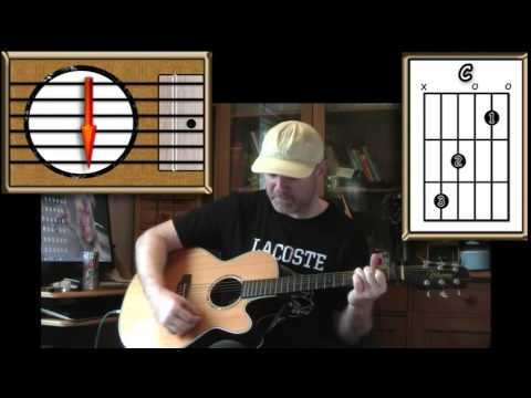 As Time Goes By - Casablanca - Acoustic Guitar Lesson (easy-ish)