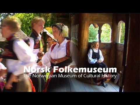 Oslo - Norwegian Culture at Norsk Folkemuseum - Norway