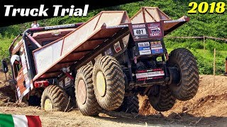 Truck Trial Oleggio 2018, Italy - European Championship/Meisterschaft - 8x8 4-axle Man & Marcedes