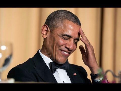 Barack Obama cracks jokes at Vladimir Putin's expense