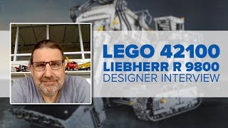 Everything you wanted to know about the LEGO 42100 set: interview with LEGO designer Markus Kossman