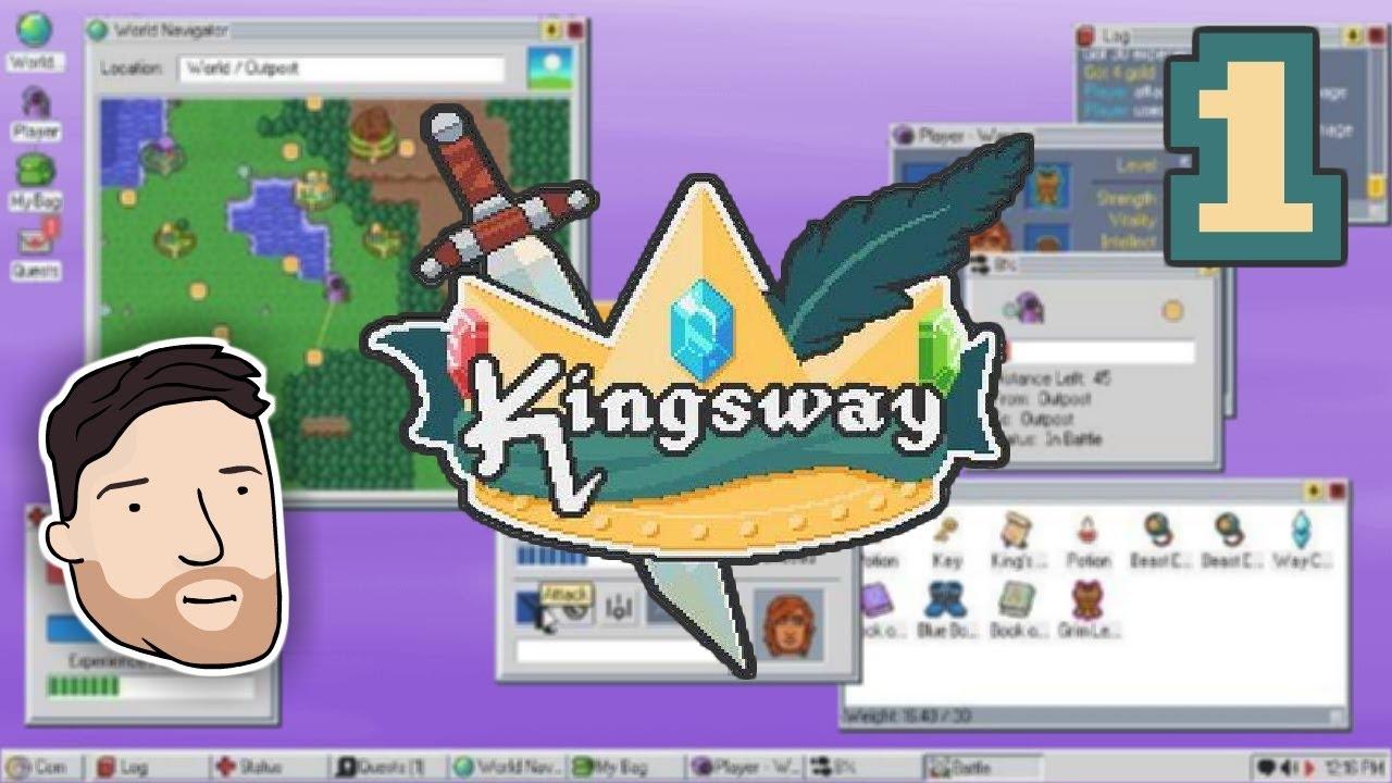 Let's Play Kingsway – PART 1: Doompety Doo | Graeme Games | Kingsway RPG Game Gameplay Playthrough