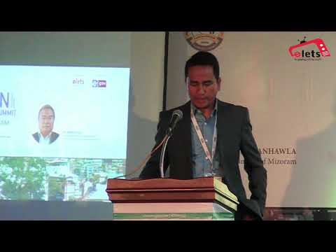 Dr Lalthlamuana, CIO, Department of Information Technology, Government of Mizoram
