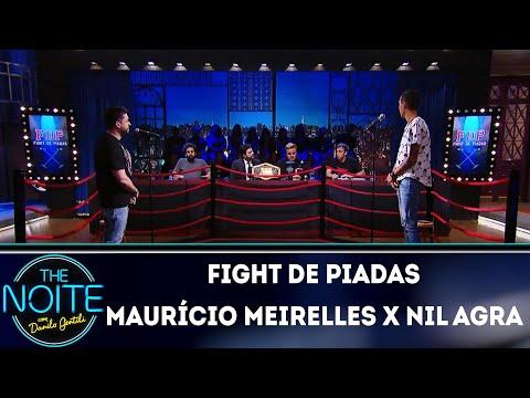 Fight de Piadas: Maurício Meirelles x Nil Agra  The Noite (23/03/18)