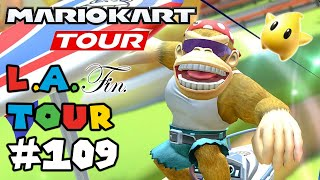 Mario Kart Tour: LA Tour 100% Finished! Gameplay Walkthrough Part 109