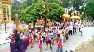 Lễ dâng đèn kiết hạ và đám tu chùa phnô phring _ chùa cầu tre