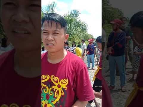 Acara Panganten Mandai Dan Lawang Sakepeng, Tari Sanggar Sari Pompong Timpah.