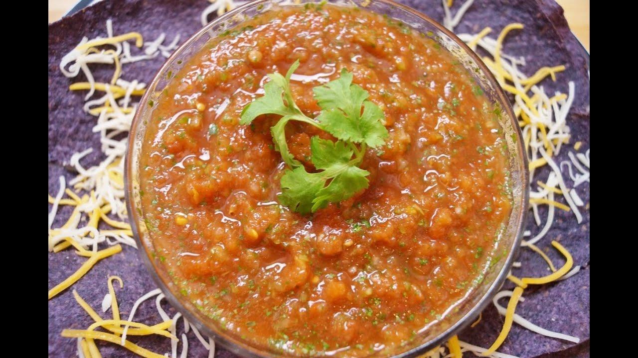 Easy Homemade Salsa Recipe: Diane Kometa - Dishin With Di # 1