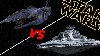 Bellator Super Star Destroyer vs Subjugator Heavy Cruiser | Star Wars: Who Would Win