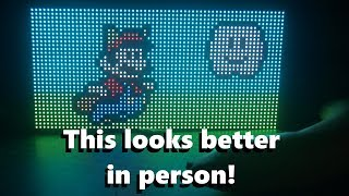 RGB LED Matrix with an ESP8266 - How to get started