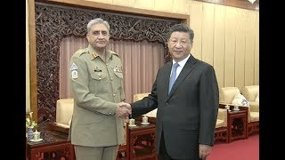 Chinese President Meets Pakistani Chief of Army Staff
