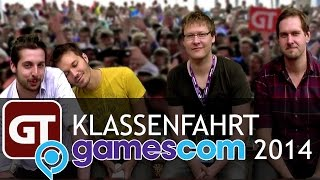 Thumbnail für Die große GameTube-gamescom-Klassenfahrt 2014