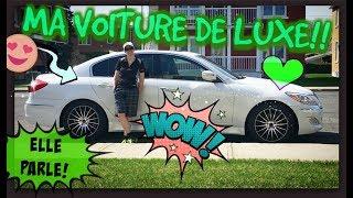 Ma voiture de luxe!! -