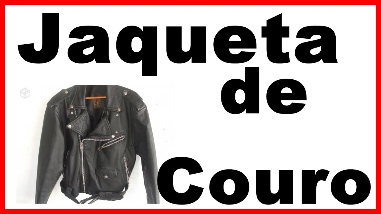 087ae83c4b1 As jaquetas de couro masculina Julian Marcuir para revender. - YouTube