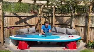 Discover Paddling Paddleboard Desk HQ