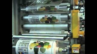 Flexo Printing Press - 6 colors 150M/Min.