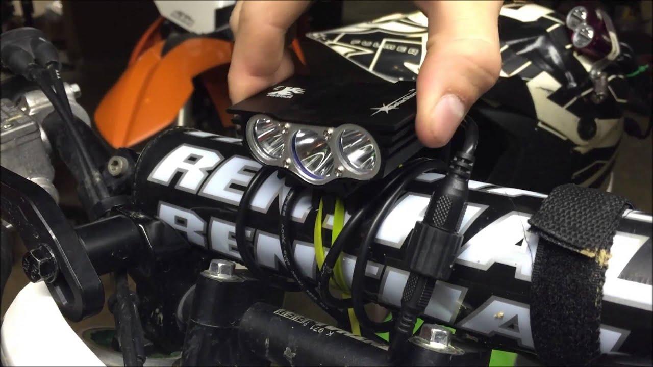 medium resolution of on pit bike wiring headlight