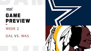 Dallas Cowboys vs. Washington Redskins Week 2 NFL Game Preview