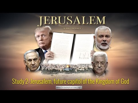 LIVE EVENT: Jerusalem in Bible Prophecy: Part 2: Jerusalem, future capitol of the Kingdom of God