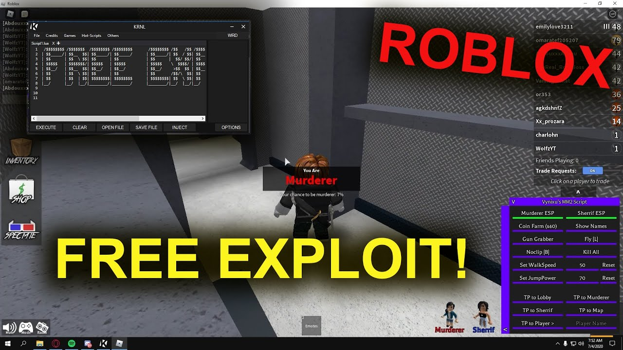 HOW to EXPLOIT on ROBLOX! INSANE Free Injector! (working) (July 2020)