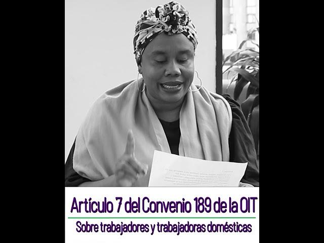 Articulo 7 Convenio 189 - ¿Se ha cumplido?