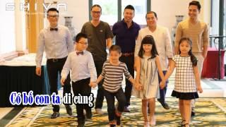 Karaoke Mình Đi Đâu Thế Bố Ơi Team Bố Ơi Season 1 2014 Beat Chuẩn