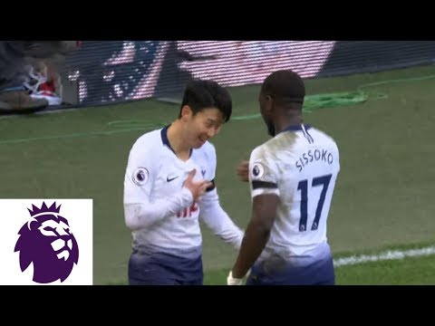 Son Heung clinches Tottenham win with breakaway goal v. Leicester City | Premier League | NBC Sports