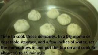 Steamed Chicken Momos