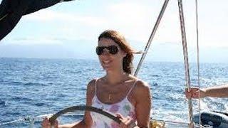 (HD1322) Corse sail voile catamaran Bonifacio Lavezzi - Bunifazziu Corsica, France - GoPro