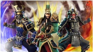 NEW *GUAN YU* & SAMURAI SKINS SPEEDART #4 | Fortnite Battle Royal