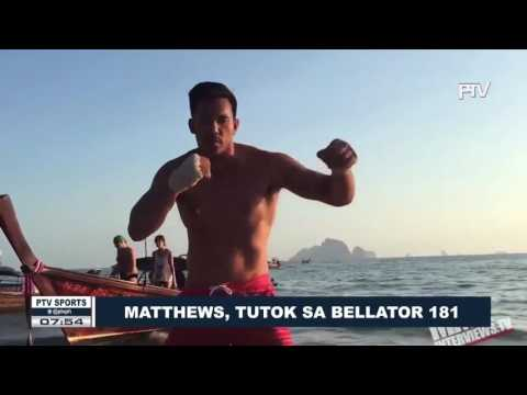 Matthews, tutok sa Bellator 181
