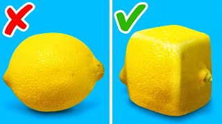 29 SIMPLE LIFE HACKS TO DECORATE YOUR FOOD || TRY SQUARED CITRUS