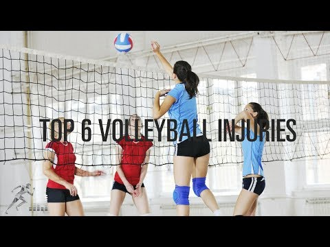 The 6 most common volleyball injuries